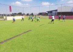 Ayoba-Yo hosts tournaments in Astroturf field