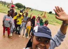 Woman empowers children